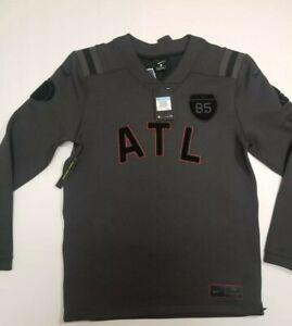 Nike Football A Ma Maniere Atlanta Collection Medium Gray Mens Crewneck