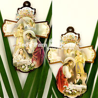 First Communion Party Favor Girl Boy Hang Cross Recuerdos de Comunion Nino Nina