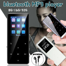 Portable bluetooth MP3 MP4 Music Player FM Voice Recorder Support up to 128GB US