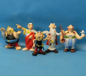 Asterix Obelix Miraculix Verleihnix Cäsar SERIE KOMPLETT Maia Borges TOPZUSTAND