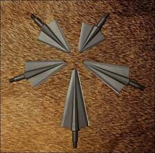 VPA 2 Blade Double Bevel Broadheads 150, 175, 200, 250,  and 300 Grain 3 Pack