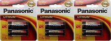 3x Panasonic 2CR5 Battery 6V Photo Lithium Cylinder 2CR5M 6 Volt 245 DL245 EL2