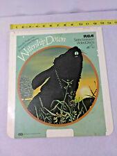 Vintage ~Watership Down ~ CED VideoDisc RCA Selectavision 1981