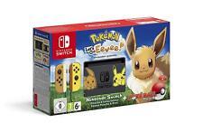 Nintendo Switch Pikachu & Eevee Edition+Pokémon: Let's Go, Eevee!+Poké Ball