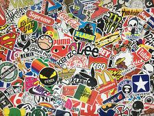 Lot de stickers marques, logos, populaire, sport, enseignes, fastfood, street
