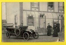 cpa Carte Postale Photo vers 1910 VOITURE AUTOMOBILE à Identifier