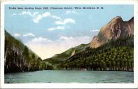 Postcard Eagle Cliff Profile Lake White Mountains Hampshire Posted 1933 Notch