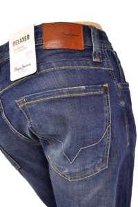 PEPE Jeans KINGSTON PM200143 Z45 Regular Relaxed Fit Dunkelblau NEU