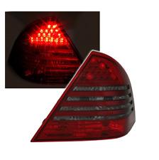2 FEUX ARRIERE LED MERCEDES CLASSE C W203 PHASE 1 DE 05/2000 A 03/2004 ROUGE NOI