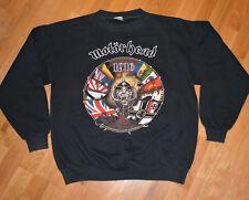 *1991 MOTORHEAD* vintage rare concert sweatshirt shirt (XL) 80's Lemmy Euro Tour