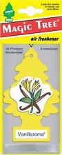 5 X VANILLAROMA MAGIC TREE AIR FRESHENER CAR HOME VAN OFFICE TOILET TAXI CAB