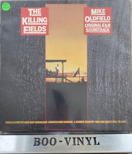 "THE KILLING FIELDS "" MIKE OLDFIELD ORIGINAL FILM SOUNDTRACK "" VINYL ALBUM  EX CO"