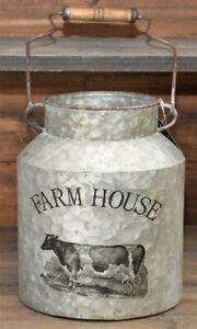 Farm House Milk Can with Handle
