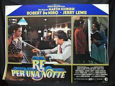 FOTOBUSTA CINEMA - RE PER UNA NOTTE - ROBERT DE NIRO - 1983 - COMMEDIA - 02