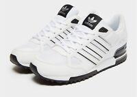 Adidas Originaux Hommes Zx 750 Baskets Blanc/Noir Stock Limité Exclusivité Blanc