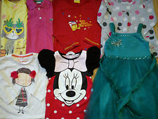 NICE BRANDS 13x MONSOON MOTHERCARE DEBENHAMS BUNDLE GIRL CLOTHES 3/5 YRS(2.2