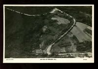 Somerset PORLOCK Hill Aerial view by Aerofilms 1931 RP PPC