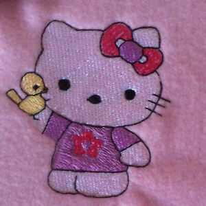Baby blanket - Pink - Personalised with Baby's name - KITTY & BIRD