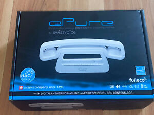 Swissvoice ePure DECT 6.0 Design Home Cordless White Telephone 20407168