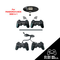 Gamepad Wireless Controllers for Pandora Box DX 3000 in 1 Arcade game 3D tekken