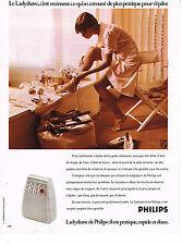 PUBLICITE ADVERTISING  1974   PHILIPS  le LADYSHAVE
