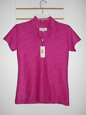 Sport Haley New Womens Fuchsia Stretch XSmall Shirt Blouse Top