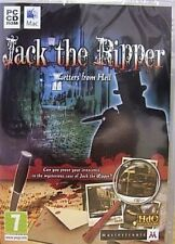 JACK THE RIPPER LETTERS FROM HELL ( PC DVD) NEW SEALED