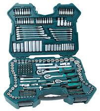 """Mannesmann Premium Combination Ratchet & Socket Set 215 pcs 1/2"""" / 3/8"""" / 1/4"""""""