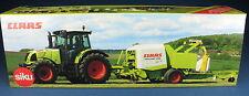 Siku Farmer 7605-Claas Ares 697 ATZ avec uniwrap spécial modèle-NEUF dans emballage d'origine 1:32