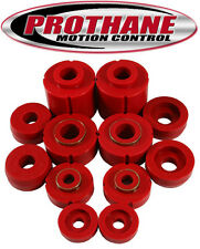 PROTHANE 80-96 Ford F-150 F-250 F-350 Cab Mount Bushing Kit Polyurethane (Red)