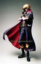 "1/8 Space Pirate: Captain Harlock 10"" Tall Unpainted Resin Model Kit"