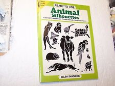 Ellen Sandbeck Ready To Use Animal Silhouettes Dover Clip Art Series book