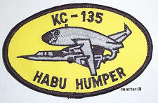 US. Air Force `KC-135 HABU HUMPER` Cloth Badge / Patch (A4)
