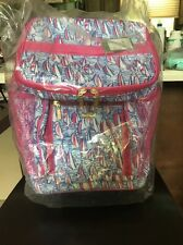 Lilly Pulitzer NWT rolling cooler Red Right Return  Sealed Free Shipping