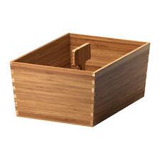 FlexAble Storage IKEA VARIERA BOX CON MANIGLIA, Bambù