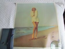 "Marilyn Monroe ""Chilly Wind"" 1962 Publishers Proof photo by George Barris"