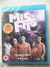 73661 Blu-ray - Misfits Series Three [NEW / SEALED]  2011  C4BD50028