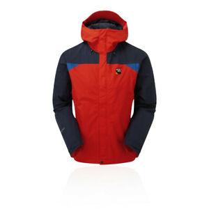 Sprayway Mens Reaction GORE-TEX Jacket Top Blue Red Sports Outdoors Full Zip