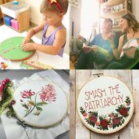 Hand Embroidery Starter Kit Cross Stitch Kits Needlepoint for Kids Children SA