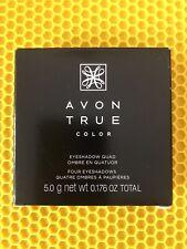 Avon True Color Eyeshadow Quad - Various Shades New in Box Free Shipping