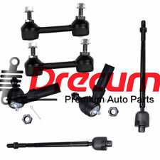 6pcs Rear Sway Bar End Links Inner Outer Tie Rod Kit For Saturn Sl Sc Sw Fits Saturn Sc