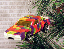 CHEVY STOCKER CHEVROLET STOCK CAR RACING RACE WHITE CHRISTMAS ORNAMENT