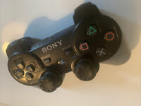 Official Sony PlayStation 3 PS3 Controller - Dual Shock 3 - Black - Fully Tested