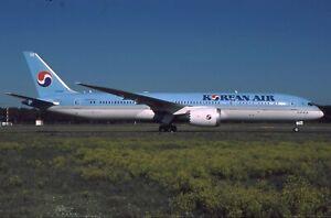 Aircraft Slide Korean Air B787-9 Dreamliner HL8084