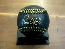 PAUL O'NEILL WSC NEW YORK YANKEES REDS SIGNED AUTO BLACK L/E BASEBALL JSA MINT