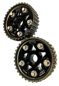 AEM Black Cam Gears 23-802BK B Series B18A B18B B16 B17 Acura Integra Civic Del