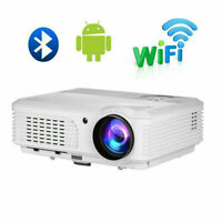 5000lms Android 1080P Blue tooth Beamer Projektor Heimkino Airplay Wireless HDMI