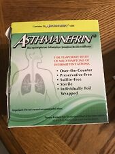 Asthmanefrin Asthma Medication Refill 30-Count Exp. 2/2021 & 4/2021