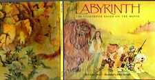 LABYRINTH Storybook Based On The Movie LOUISE GIKOW ILLUSTRATED Bruce McNally