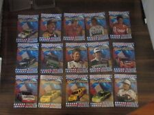 1996 Maxx Made In America BLUE RIBBON Complete 15 card set